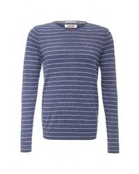 Мужской синий свитер с круглым вырезом от Tommy Hilfiger Denim