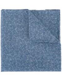 Синий хлопковый нагрудный платок от Eleventy
