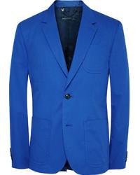 Мужской синий хлопковый пиджак от Marc by Marc Jacobs
