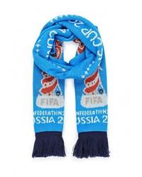 Мужской синий шарф от adidas Performance