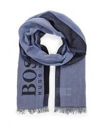 Мужской синий шарф от Boss Green