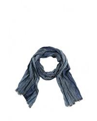 Мужской синий шарф от s.Oliver