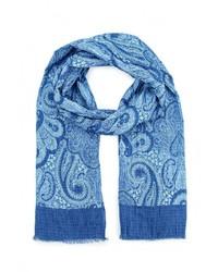 Мужской синий шарф от United Colors of Benetton