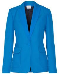 Женский синий шерстяной пиджак от Pallas