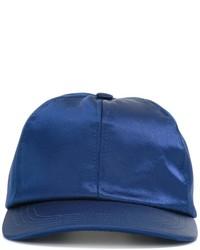 Мужская синяя бейсболка от AMI Alexandre Mattiussi