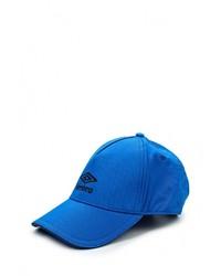 Мужская синяя бейсболка от Umbro