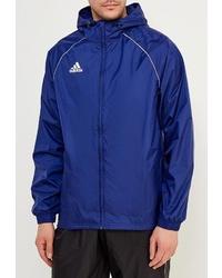 Мужская синяя ветровка от adidas