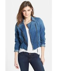 Синяя джинсовая косуха