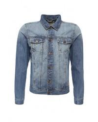 Мужская синяя джинсовая куртка от Alcott