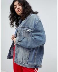 Женская синяя джинсовая куртка от ASOS DESIGN