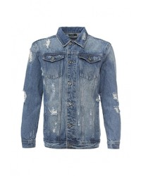 Мужская синяя джинсовая куртка от Befree