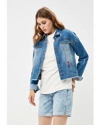 Женская синяя джинсовая куртка от Befree