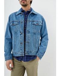 Мужская синяя джинсовая куртка от Dairos