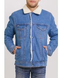 Мужская синяя джинсовая куртка от Dasti