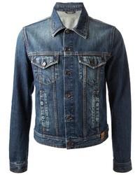 Мужская синяя джинсовая куртка от Dolce & Gabbana