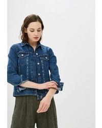 Женская синяя джинсовая куртка от Dorothy Perkins