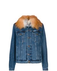 Женская синяя джинсовая куртка от Forte Dei Marmi Couture