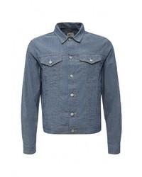 Мужская синяя джинсовая куртка от Gap