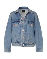 Женская синяя джинсовая куртка от Goldsign