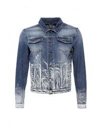 Мужская синяя джинсовая куртка от Iceberg