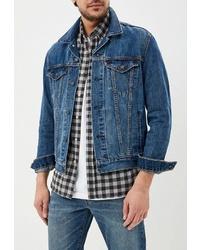 Мужская синяя джинсовая куртка от Levi's