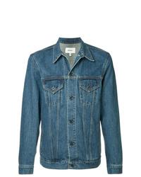 Мужская синяя джинсовая куртка от Makavelic