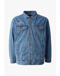 Мужская синяя джинсовая куртка от O'stin