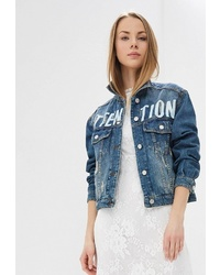 Женская синяя джинсовая куртка от Q/S designed by