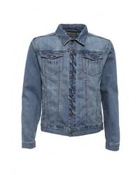 Мужская синяя джинсовая куртка от Sela