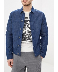 Мужская синяя джинсовая куртка от Selected Homme