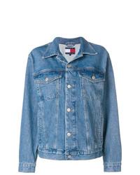Женская синяя джинсовая куртка от Tommy Jeans