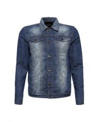 Мужская синяя джинсовая куртка от Top Secret