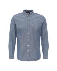 Мужская синяя джинсовая рубашка от Levi's