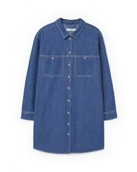 9d8f611c Купить женскую джинсовую рубашку Mango в интернет-магазине Lamoda ...