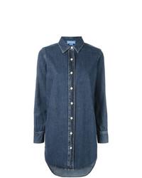 Женская синяя джинсовая рубашка от MiH Jeans