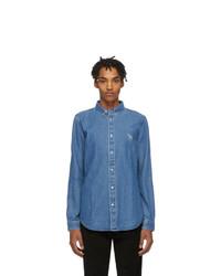 Мужская синяя джинсовая рубашка от Ps By Paul Smith