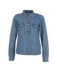 Женская синяя джинсовая рубашка от Roxy