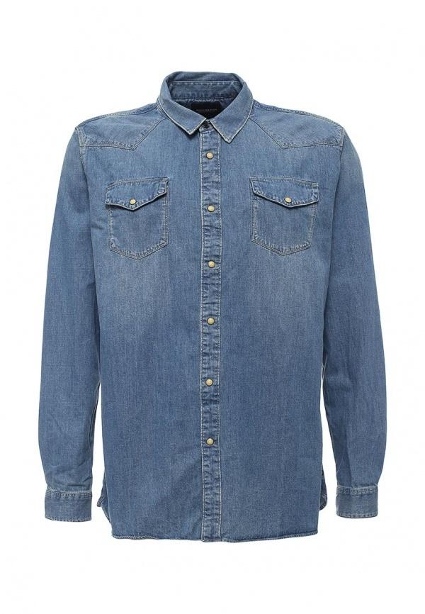 Мужская синяя джинсовая рубашка от Scotch&Soda