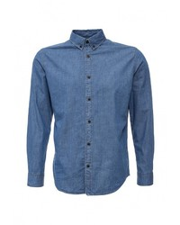 Мужская синяя джинсовая рубашка от Selected Homme