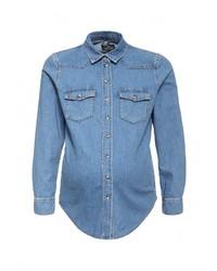 Женская синяя джинсовая рубашка от Topshop Maternity