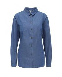 Женская синяя джинсовая рубашка от Yarmina