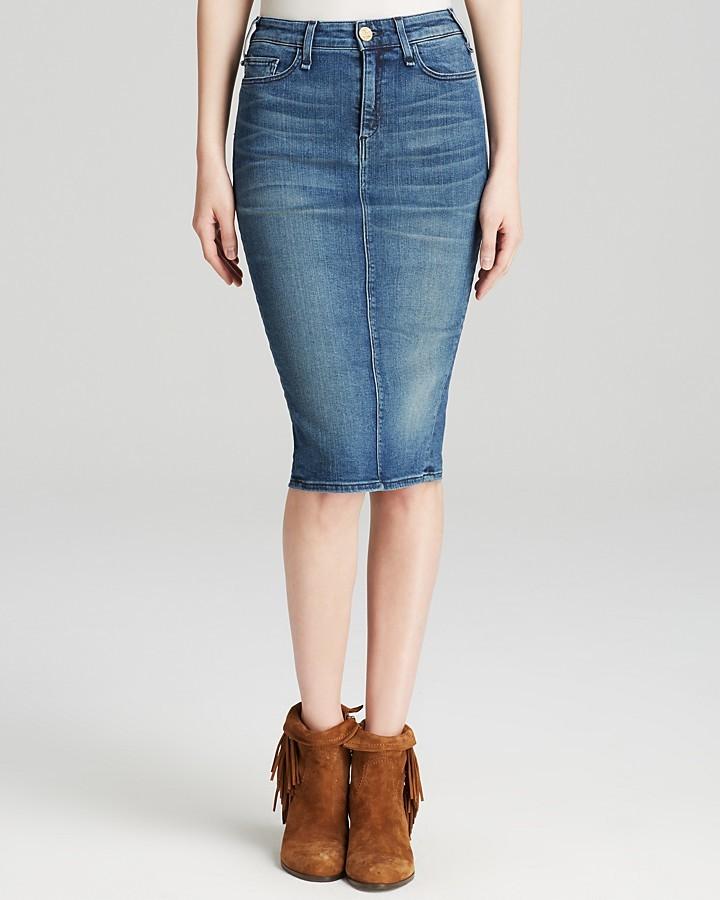 Джинсовые юбки классика купить