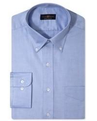 Синяя классическая рубашка