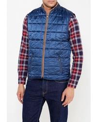 Мужская синяя куртка без рукавов от Relax Mode