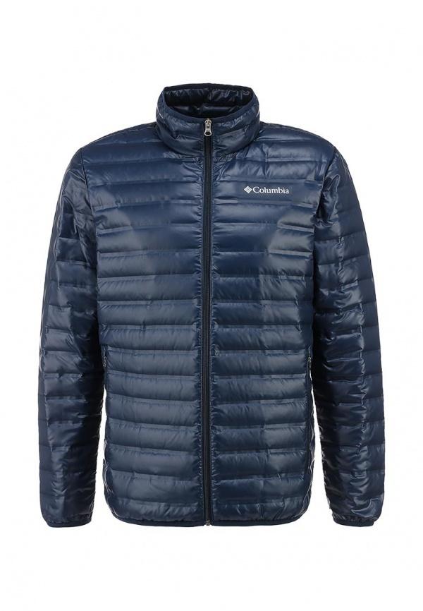 46c3e22d126a Мужская синяя куртка-пуховик от Columbia   Где купить и с чем носить