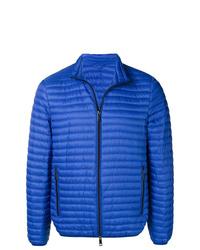 Мужская синяя куртка-пуховик от Emporio Armani