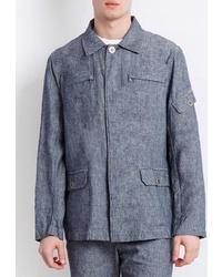 Мужская синяя куртка-рубашка от FiNN FLARE