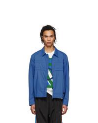 Синяя куртка харрингтон