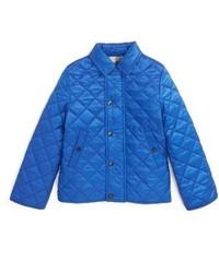 Синяя куртка