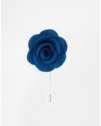 Синяя мужская брошь от Asos
